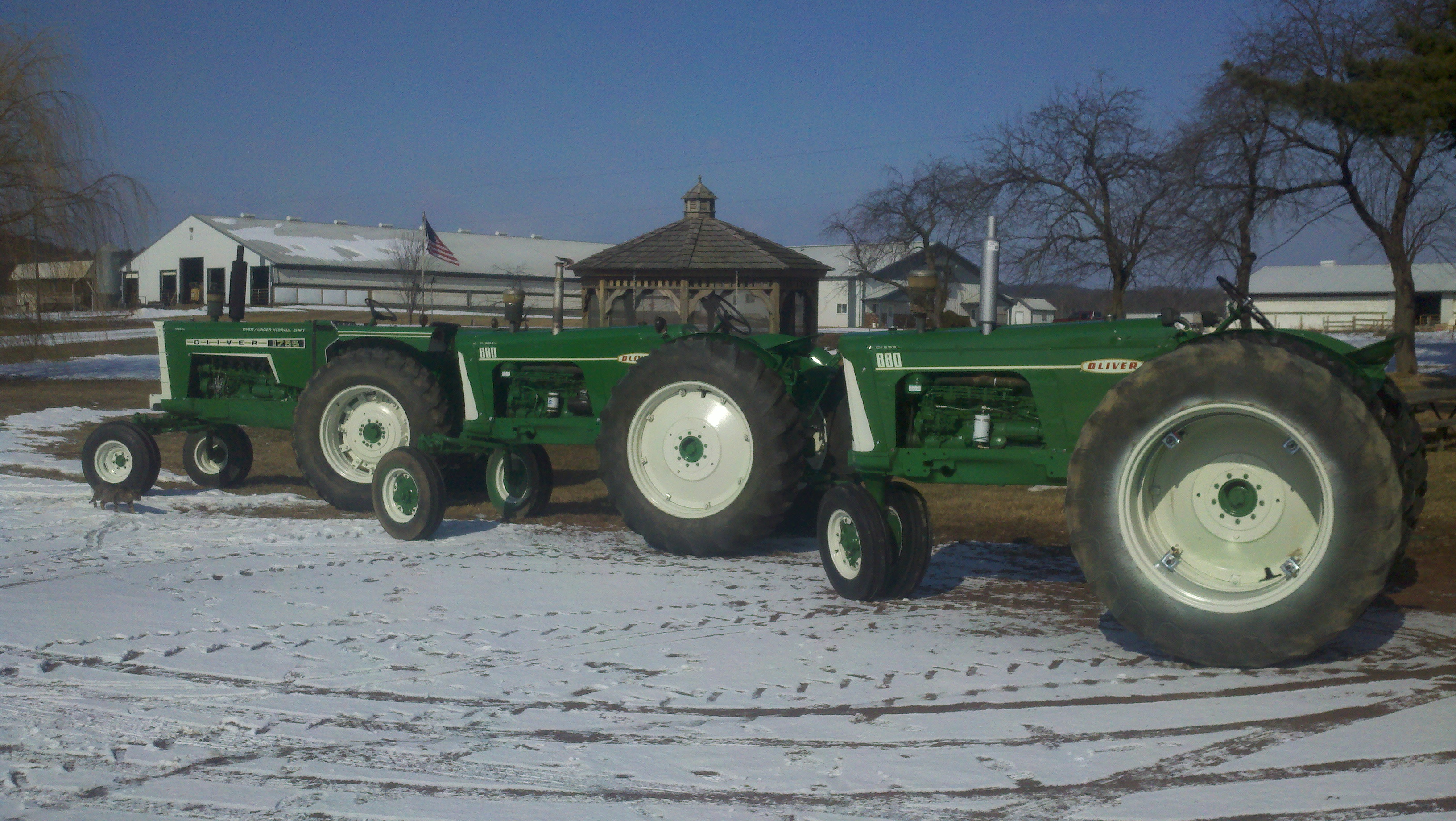 Oliver 1755 Diesel 880 Tractor Wiring Diagram Winter Shop Projects Wisconsin Dairy Farmer 3264x1840