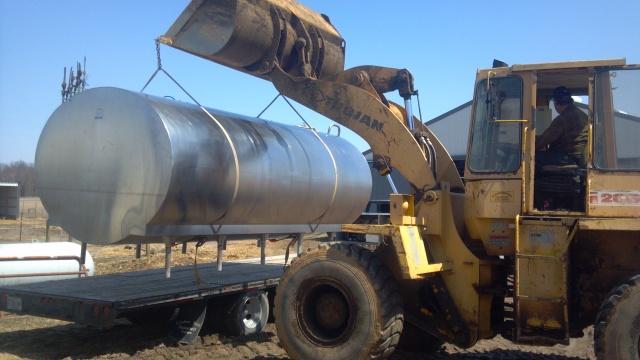 3000 gallon milk bulk tank