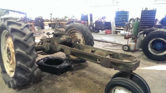 oliver 660 diesel restore