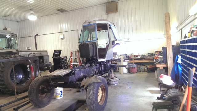white 2-135 tear down