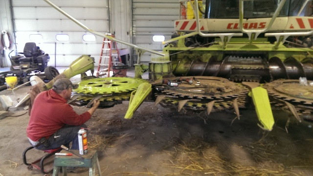 claas 900 corn head tune up